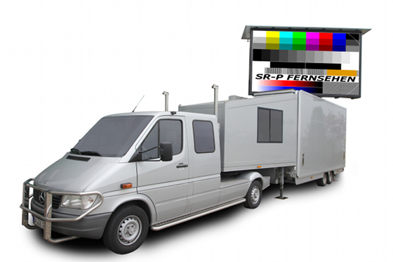 LED Truck / Showtruck mit LED Video Wand